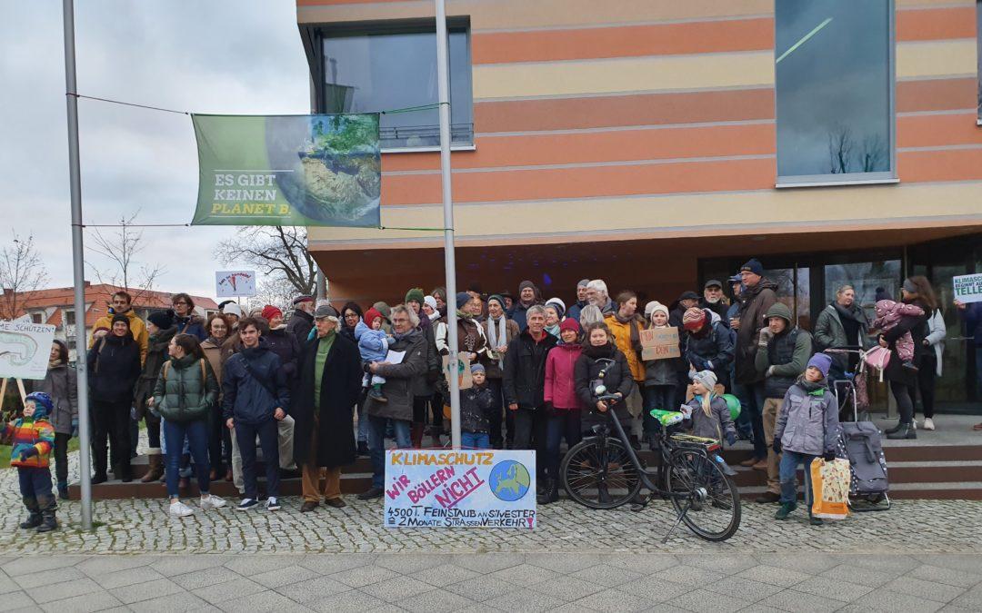 2. Klimaprotest in Schöneiche