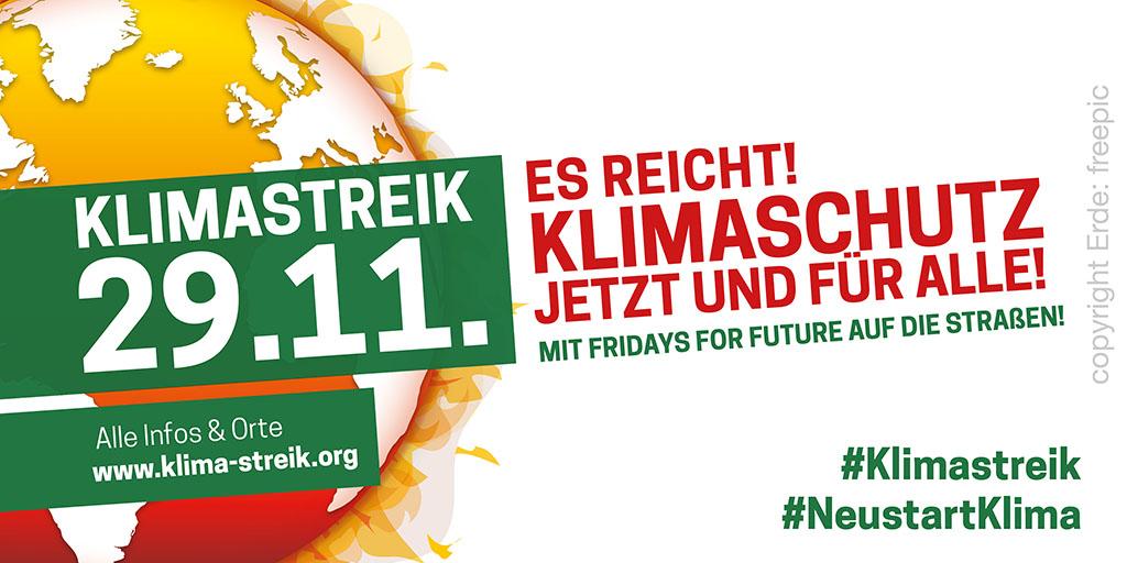 Klimaprotest in Schöneiche
