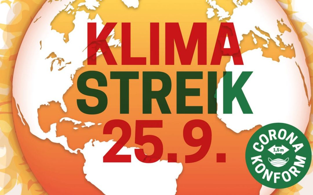 Globaler Klimastreik am 25. September